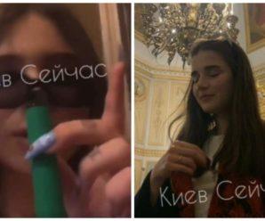 Курили, розпивали алкоголь та задували свічки: кілька дівчат влаштували дебош у церкві на Великдень (відео)
