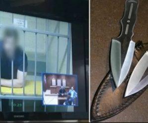 Батько згвалтованої 14-річної дівчинки вбив насильника дочки в залі суду