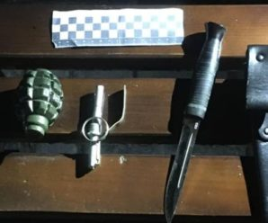 У Франківську п'яний чоловік погрожував підірвати гранату (фото)