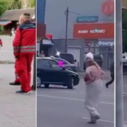 """Вулицею в Івано-Франківську гуляла напівоголена жінка: """"А, що я не маю права"""""""