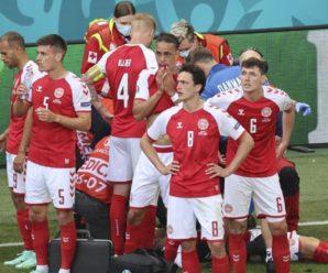 У футболіста збірної Данії на полі зупинилося серце: думка лікаря збірної України