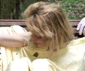 У Львові парком бігала оголена жінка, яка побила двох дівчат та зірвала золотий ланцюжок. Відео