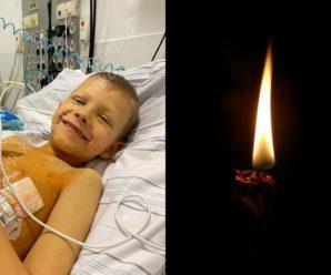 У Франківську від раку помер хлопчик, якому збирали кошти на лікування