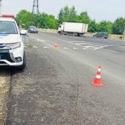 На Франківщині водій авто збив неповнолітню: потерпіла у лікарні (ФОТО)