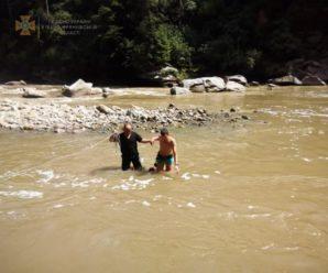 В Яремче чоловік впав у водоспад і його понесло сильною течією (ФОТО)