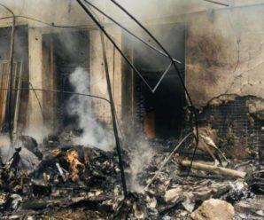 Будинок на Прикарпатті, на який впав літак, відновленню не підлягає: в ньому жили три родини