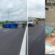 В Польщі сталася аварія українського буса, в якій постраждали українські заробітчани. Сім'я потребує допомоги