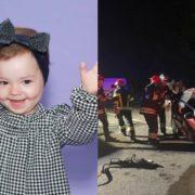 За життя 2-річної Єви, яка вижила у смертельній аварії, борються медики. Їй потрібна допомога (ФОТО/ВІДЕО)