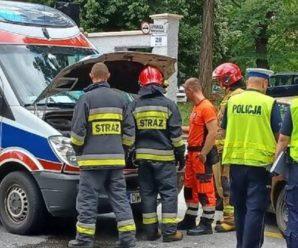 У Вроцлаві українець «вилікував» поляка врізавшись у швидку допомогу, на якій хворого везли до лікарні
