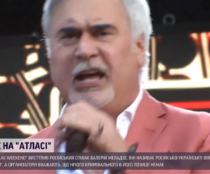 Концерт Валерія Меладзе у Києві відбувся під посиленою охороною: від кого захищали російського співака