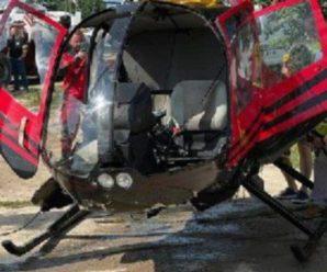 У Польщі оприлюднили кадри падіння гелікоптера з українцями в озеро