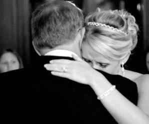 Минули роки, і от я стою на весіллі своєї доньки. Несподівано навідався туди і її біологічний батько. Поводив себе зверхньо та пихато