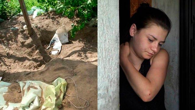 Зверху посадила помідори: на Київщині 18-річна дівчина вбила матір і закопала тіло на городі
