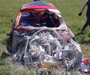 ДТП під час пегонів авто перекинулося 10 разів