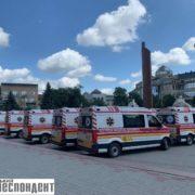 Прикарпатська екстрена медична допомога отримала нові автомобілі (фото)