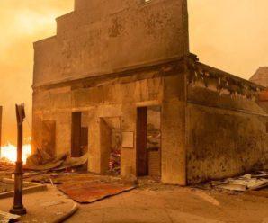 У США через пожежу вщент згоріло все місто: фото, відео