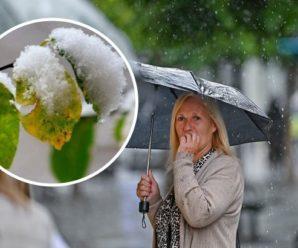 Моторошні грози, мокрий сніг і сильна спека: синоптики налякали прогнозом погоди