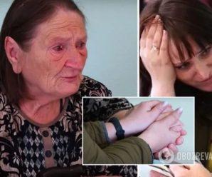 """""""Зустріч через 21 рік"""": діти впізнали свою матір у старенькій жебрачці на вулиці Одеси"""