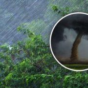 Україну накриє сильними зливами і вітром до 30 м/с: які області підтопить