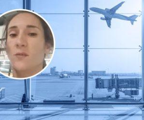 Українська спортсменка бомжує з дітьми в аеропорту Хітроу через МАУ (відео)