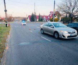 Переходила дорогу на червоне світло: деталі ДТП у Калуші, в якій постраждала дитина (ФОТО)