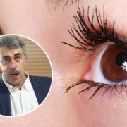 Комаровський пояснив, чому смикається око і що робити для уникнення блефароспазму