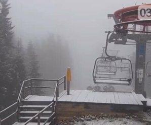 У Карпати прийшла зима: Буковель засипало снігом
