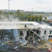 На півночі Італії упав літак, є жертви (фото)
