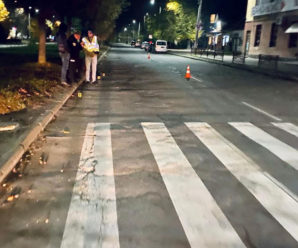У Калуші мотоцикліст збив шестирічну дівчинку і втік з місця події. Дівчинка загинула внаслідок дорожньо-транспортної пригоди