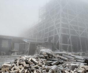 На горі Піп Іван температура повітря опустилася до -9°С (ФОТОФАКТ)