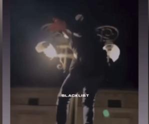 Ніч вандалів: у центрі Франківська били ліхтарі та вазони (ВІДЕО)