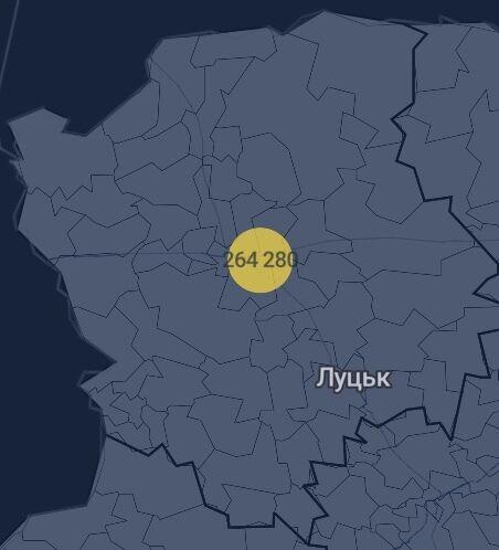 Кількість вакцин у Волинській області