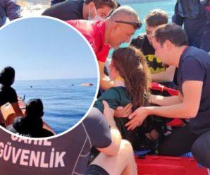 У Туреччині українка в повітрі зіткнулася з іншим парашутистом і впала в море (відео)